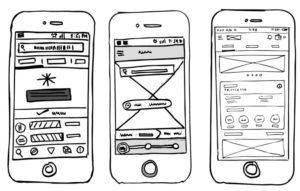 low-fidelity-wireframe-sketches-mobile-app